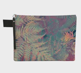 Aperçu de Flowers pastel zipper carry all