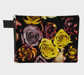 Flowers roses zipper carry all preview