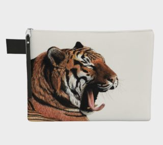 Yawning Zipper Carry All Pouch preview