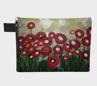 Whimsical Poppy Zipper-All preview