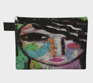 Original Abstract Art Clutch Bag preview