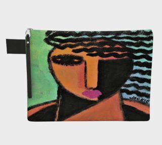 Aperçu de Funky Abstract Art Clutch Bag