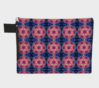 Cosmic Love Mandala Zipper Carry-All preview