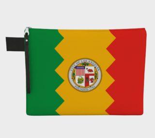 LA Flag Zipper Carry All preview