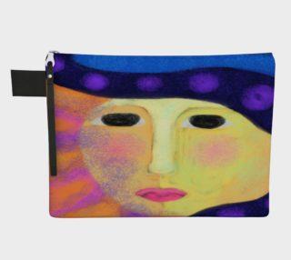 Aperçu de Sun Abstract Art Clutch Bag