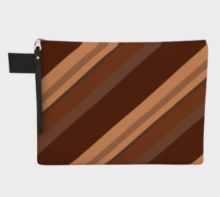 Brown Chocolate Caramel Stripes  preview