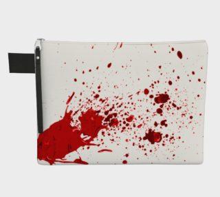 Blood Splatter First Cosplay Halloween Zipper Carry-All preview