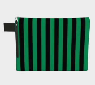Aperçu de Black and Shamrock Green Stripes