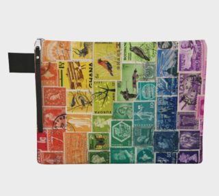 Rainbow Postage Stamp Collage preview