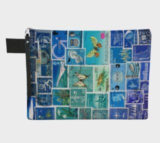 Aperçu de The Blues - Postage Stamp Collage