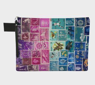 Aperçu de Midnight Sea - Postage Stamp Seascape