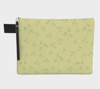 Charming Blooms Delicate Foliage Carry-all Pouches preview