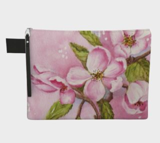 Watercolor Pink Apple Blossoms preview