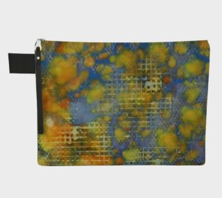 Window Into Summer Ink # 17 Zipper Carry All preview
