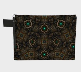 Cornillian Shells Zipper Carry All preview