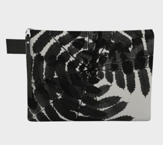 Black and White Leaf CarryAll preview