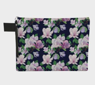 Magnolia Floral Frenzy Zipper Carry-All preview