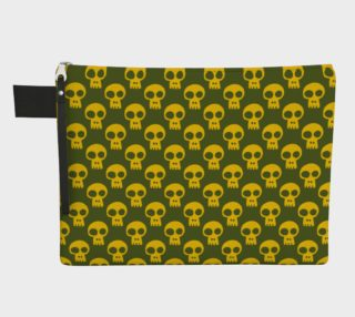 Yellow Skulls on Green preview