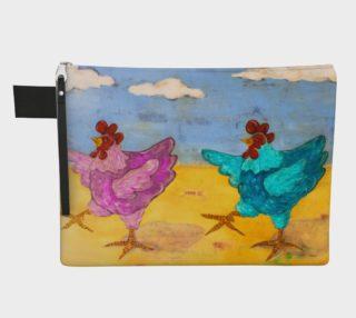 Hot Hens Zipper Carry-All preview