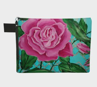 Mother's Day Roses Zipper Carry-All preview