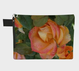 Floral Melody #2 Zipper Pouch preview