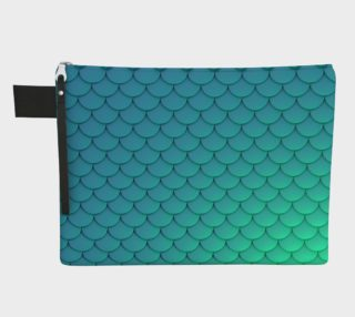 Mermaid Scales Turquoise preview