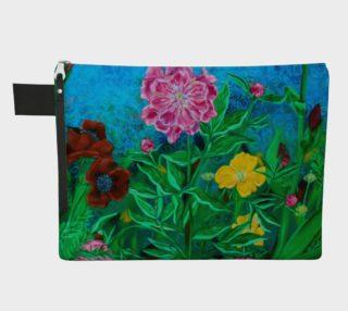 Garden Close Up Zipper Carry-All preview
