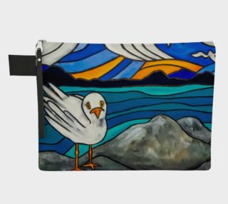 Seagull by the Sea Zipper Carry All preview