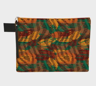 Abstract Animal Stripes Zipper Carry-All preview