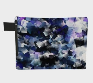 Moody Blue And Purple Cubes  preview