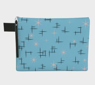 Baby Blue 50s Atomic Age Retro preview