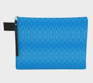 Turquoise and Blue Diamond Pattern preview