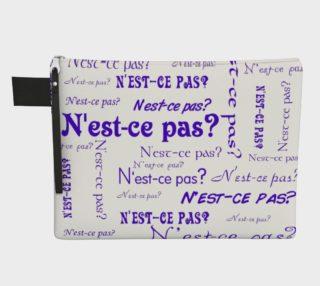 Purple N'est-ce Pas Carry-All preview