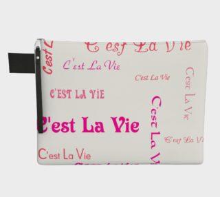 Aperçu de Fuchsia C'est la Vie Carry-All