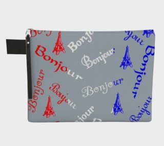 French Flag Bonjour Carry-All preview