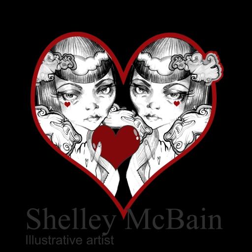 Shelley McBain - Illustrative artist picture