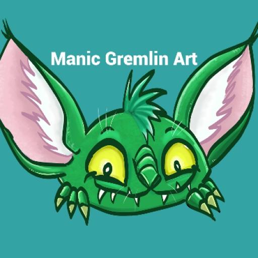 Manic Gremlin Art picture