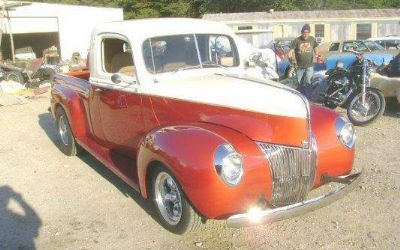 Photo 1940 Ford Custom Street Rod Pickup Full Custom