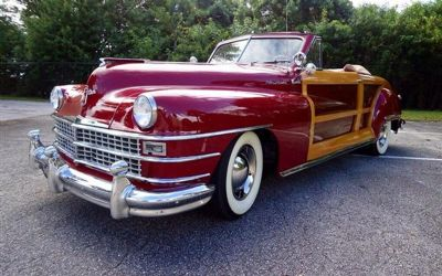 Photo 1946 Chrysler Town And Country Woody Roaster One Of One