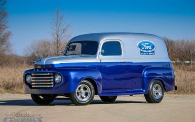 Photo 1950 Custom Ford Panel Truck