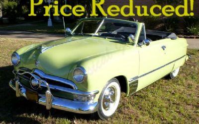Photo 1950 Ford Convertible Custom