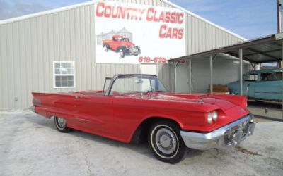 Photo 1960 Ford Thunderbird Convertible