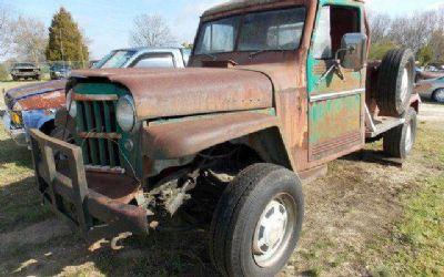 Photo 1960 Willys Jeep Custom Pickup Truck