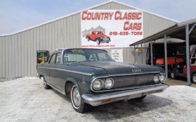 Photo 1963 Dodge Custom 880 4DR Sedan