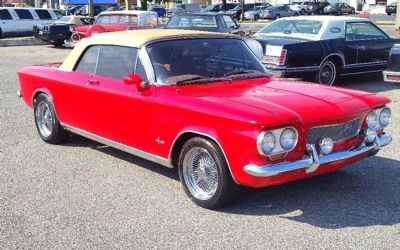 Photo 1964 Chevrolet Corvair Spyder Convertible