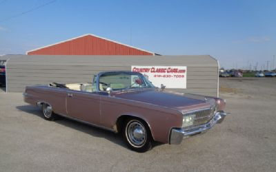 Photo 1965 Chrysler Crown Imperial Convertible