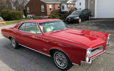 Photo 1966 Pontiac GTO Rebuilt S Matching 389 TRI Power_Phs Documented