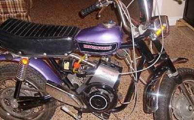 Photo 1971 Rupp Roadster 2 Mini Bike
