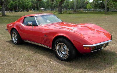 Photo 1972 Chevrolet Corvette T Top Coupe