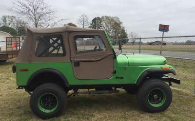 Photo 1975 Jeep CJ7